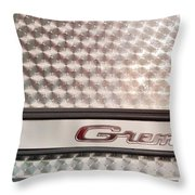 Gremlin Emblem  Throw Pillow