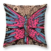 Grew Through A Million Eyes Throw Pillow
