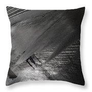 Grey Areas Throw Pillow
