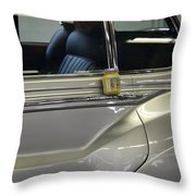 Grey Poupon And Rolls Royce Throw Pillow