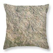 Grey Rock Texture Throw Pillow