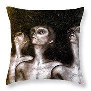 Greys Throw Pillow