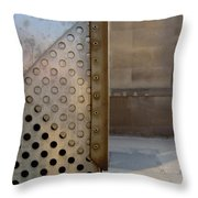 Grid And Block 1 Throw Pillow