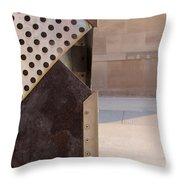 Grid And Block 2 Throw Pillow