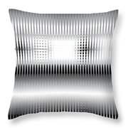 Grid Trap 2 Throw Pillow