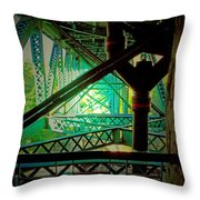 Gridwork Throw Pillow