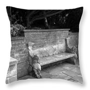 Griffin Bench Throw Pillow