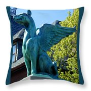 Griffin Natural Color Throw Pillow