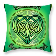Griffin Soul Of Ireland Throw Pillow