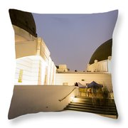 Griffith Park Observatory No. 3 Throw Pillow