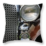 Grill And Headlight Throw Pillow