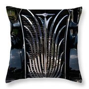 Grill And Headlights Throw Pillow