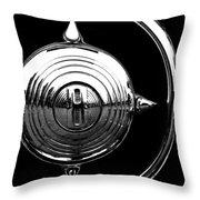 Grill Bullet 1949 Ford Custom V-8 Throw Pillow