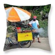 Grill-to-go Throw Pillow