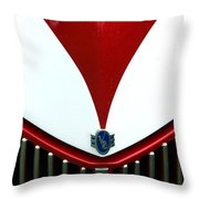 Grille And Logo Throw Pillow