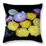 Grilled Veggies #1 Throw Pillow