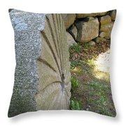 Grinding Stone Throw Pillow