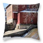 Grinding Time Throw Pillow