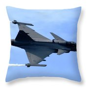 Gripen Throw Pillow