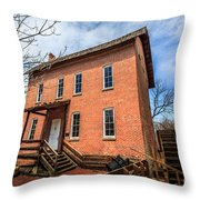Grist Mill In Northwest Indiana Throw Pillow
