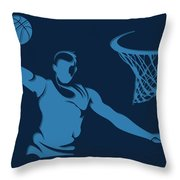 Grizzlies Shadow Player1 Throw Pillow
