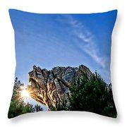 Grizzly Peak Throw Pillow