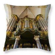 Groningen Pipe Organ Throw Pillow