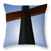 Groom Texas Cross IIi Throw Pillow