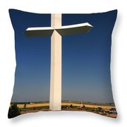 Groom Texas Cross Throw Pillow