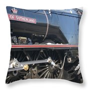Grooming The Duchess Throw Pillow