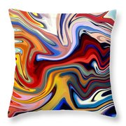 Groovalicious Throw Pillow