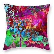 Groovy Day Throw Pillow