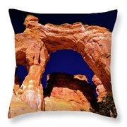 Grosvenor Arch Sunset Kodachrome Basin Throw Pillow