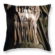 Grotte Magdaleine South France Throw Pillow
