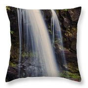 Grotto Falls Tennessee Throw Pillow