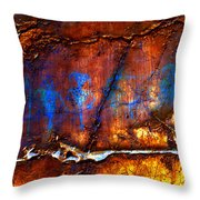 Grotto Hunt Throw Pillow