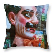 Groucho Throw Pillow