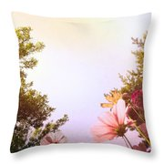 Ground View Throw Pillow