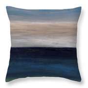Grounding By The Sea Throw Pillow