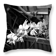 Group Of Flowers Throw Pillow