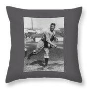 Grover Cleveland Alexander 1915 Throw Pillow