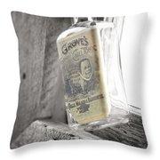 Grove's Tonic Throw Pillow