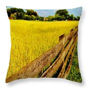 Growing History Throw Pillow