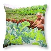 Growing Hope Throw Pillow