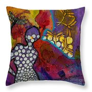 Growing In Grace Throw Pillow