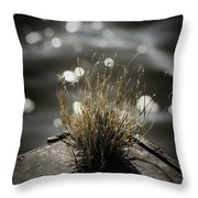 Growing Out Of Nothing Throw Pillow