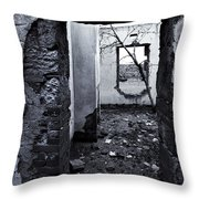 Growing Out Of Ruin Throw Pillow