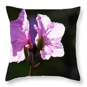 Growing Strong Together Throw Pillow