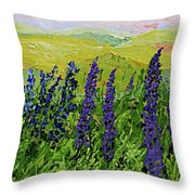 Growing Tall Throw Pillow