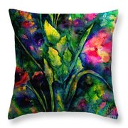 Growing Together In Love Throw Pillow